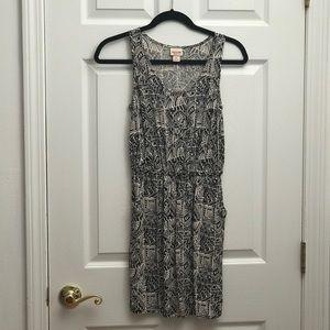 Geometric Dress (with pockets!)